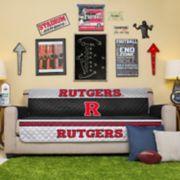 Pegasus Sports Fashions Rutgers Scarlet Knights Sofa Protector