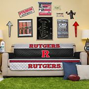 Pegasus Home Fashions Rutgers Scarlet Knights Sofa Protector