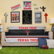Pegasus Home Fashions Texas Tech Red Raiders Sofa Protector