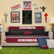 Pegasus Sports Fashions Arkansas Razorbacks Sofa Protector