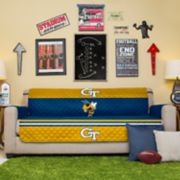 Pegasus Sports Fashions Georgia Tech Yellow Jackets Sofa Protector