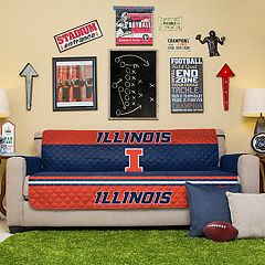 Pegasus Sports Fashions Illinois Fighting Illini Sofa Protector