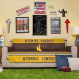 Pegasus Home Fashions Wyoming Cowboys Sofa Protector