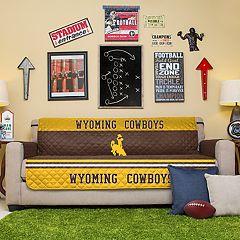 Pegasus Sports Fashions Wyoming Cowboys Sofa Protector