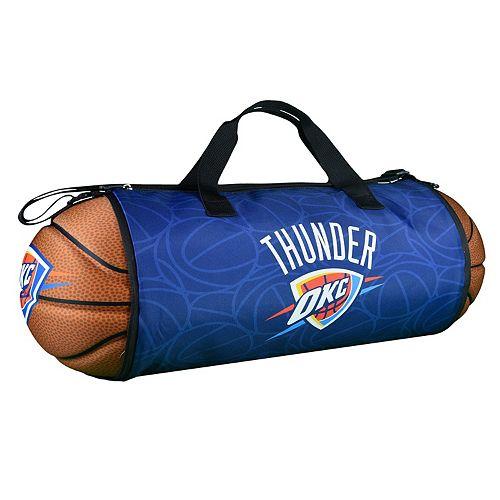 Oklahoma City Thunder Basketball to Duffel Bag