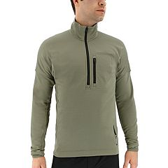 Men's adidas Outdoor Terrex Tivid Half-Zip PolarFleece Jacket
