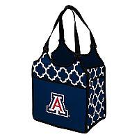 Logo Brand Arizona Wildcats Quatrefoil Tandem Cooler Tote