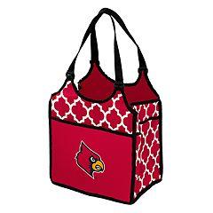 Logo Brand Louisville Cardinals Quatrefoil Tandem Cooler Tote