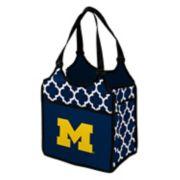 Logo Brand Michigan Wolverines Quatrefoil Tandem Cooler Tote
