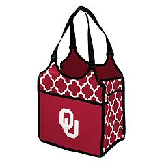 Logo Brand Oklahoma Sooners Quatrefoil Tandem Cooler Tote