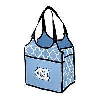 Logo Brand North Carolina Tar Heels Quatrefoil Tandem Cooler Tote