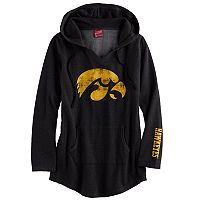 Women's Campus Heritage Iowa Hawkeyes Hooded Tunic