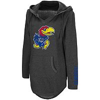 Women's Campus Heritage Kansas Jayhawks Hooded Tunic