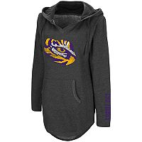 Women's Campus Heritage LSU Tigers Hooded Tunic
