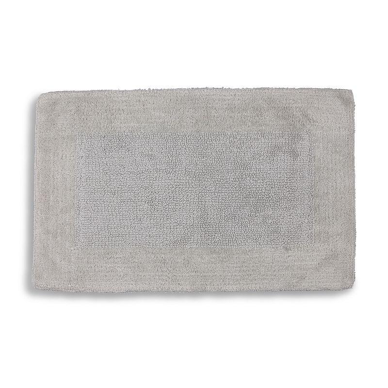 Cassadecor Osaka Bath Rug. Grey. 24X40