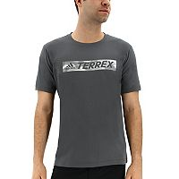 Men's adidas Outdoor climaliteTerrex Logo Performance Tee