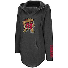 Women's Campus Heritage Maryland Terrapins Hooded Tunic