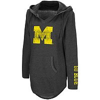 Women's Campus Heritage Michigan Wolverines Hooded Tunic