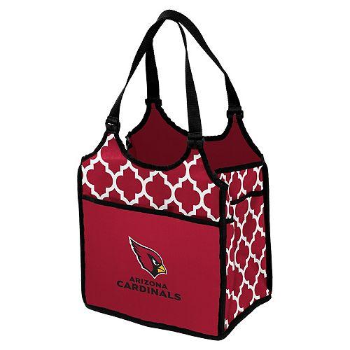 Logo Brand Arizona Cardinals Quatrefoil Tandem Cooler Tote