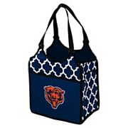 Logo Brand Chicago Bears Quatrefoil Tandem Cooler Tote