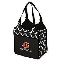 Logo Brand Cincinnati Bengals Quatrefoil Tandem Cooler Tote