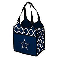 Logo Brand Dallas Cowboys Quatrefoil Tandem Cooler Tote