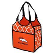 Logo Brand Denver Broncos Quatrefoil Tandem Cooler Tote