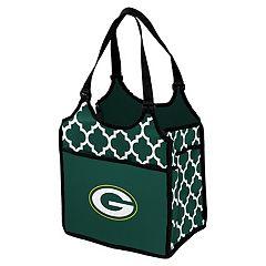 Logo Brand Green Bay Packers Quatrefoil Tandem Cooler Tote