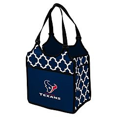 Logo Brand Houston Texans Quatrefoil Tandem Cooler Tote
