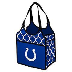 Logo Brand Indianapolis Colts Quatrefoil Tandem Cooler Tote