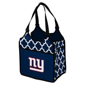 Logo Brand New York Giants Quatrefoil Tandem Cooler Tote