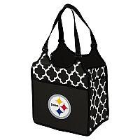 Logo Brand Pittsburgh Steelers Quatrefoil Tandem Cooler Tote