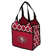 Logo Brand San Francisco 49ers Quatrefoil Tandem Cooler Tote