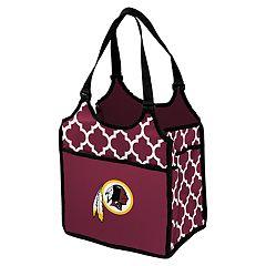 Logo Brand Washington Redskins Quatrefoil Tandem Cooler Tote