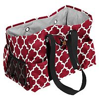 Logo Brand Arizona Cardinals Quatrefoil Junior Caddy Tote