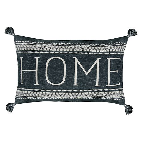 SONOMA Goods for Life™ Ultimate ''Home'' Feather Fill Oblong Throw Pillow