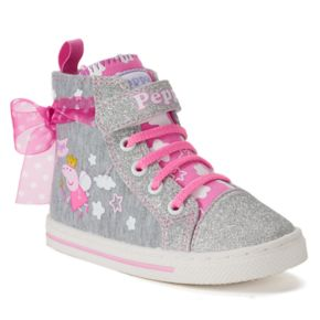 Peppa Pig Toddler Girls' High Top Sneakers