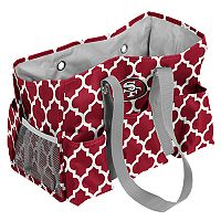 Logo Brand San Francisco 49ers Quatrefoil Junior Caddy Tote