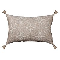 SONOMA Goods for Life™ Ultimate Woven Medallion Feather Fill Oblong Throw Pillow