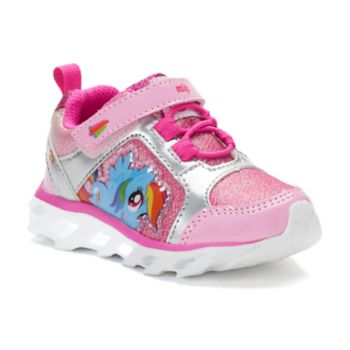 My Little Pony Rainbow Dash Toddler Girls' Light-Up Sneakers