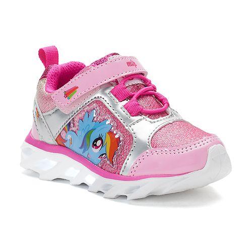 0bf9d8da6a7a My Little Pony Rainbow Dash Toddler Girls  Light-Up Sneakers
