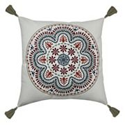 SONOMA Goods for Life™ Ultimate Embroidered Medallion Feather Fill Throw Pillow