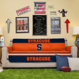 Pegasus Home Fashions Syracuse Orange Sofa Protector