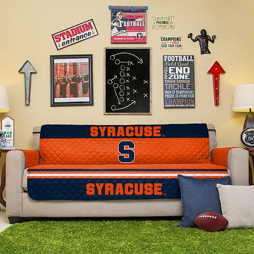 Pegasus Sports Fashions Syracuse Orange Sofa Protector