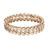 LC Lauren Conrad Matte Teardrop Stretch Bracelet