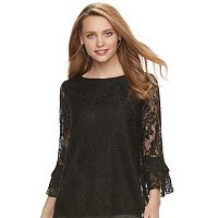 Women's ELLE™ Tiered Lace Top