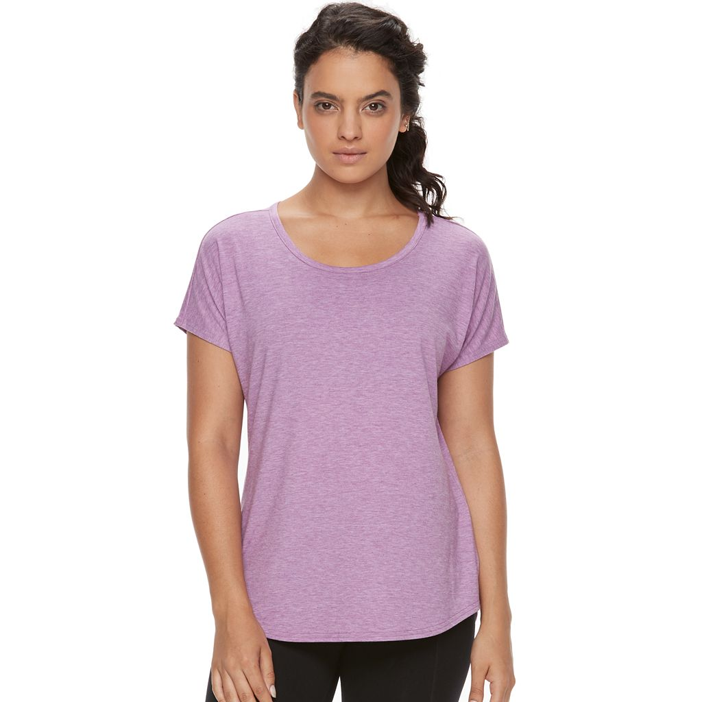 Women's Tek Gear® Mesh Back Performance Tee