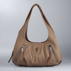 Simply Vera Vera Wang Sidekick Diagonal Zipper Satchel