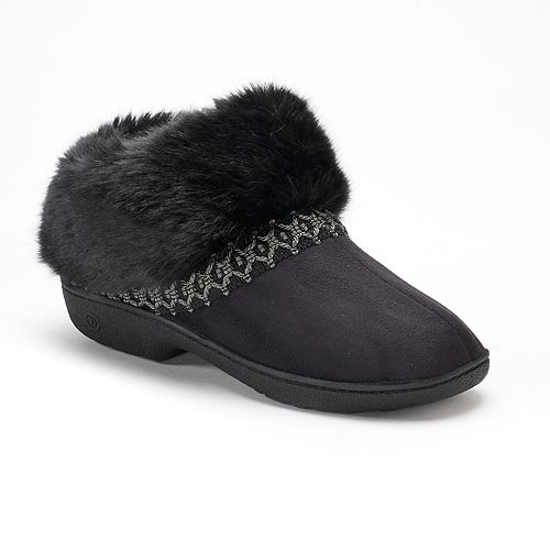 f06d968fa Women's isotoner Nola Microsuede Boot Slippers