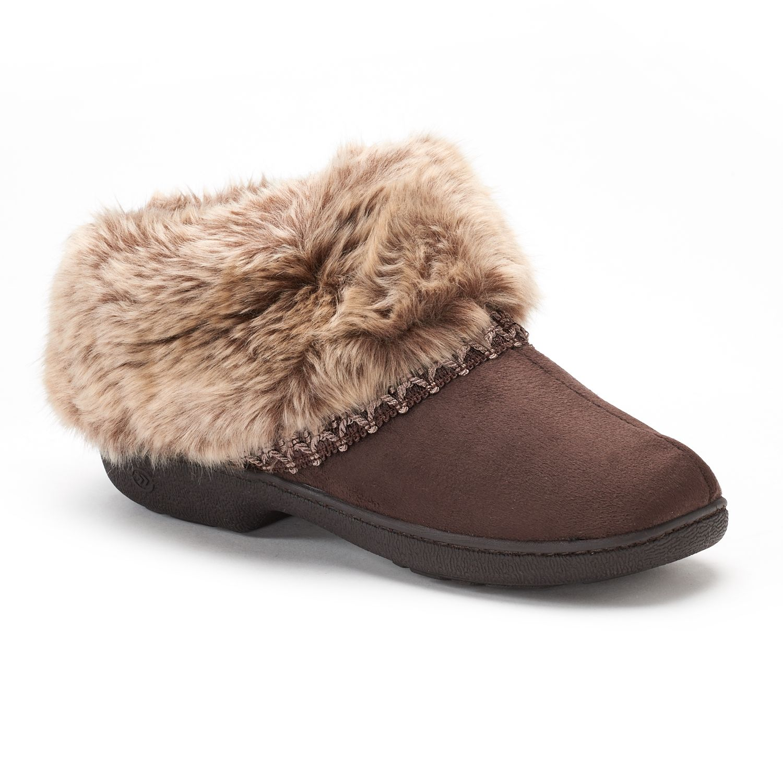 isotoner Nola Microsuede Boot Slippers